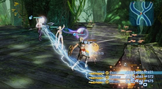 Final Fantasy XII: The Zodiac Age Battle Gameplay at Taipei Game Show