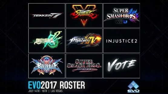 EVO 2017 Line-Up Announced - ARMS Could Be at EVO 1
