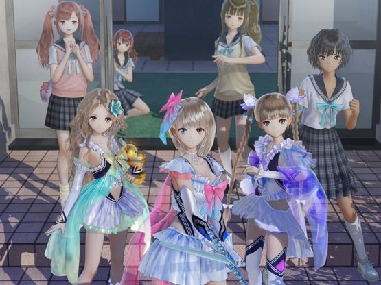 Blue Reflection Details Missions, Fragments and More Characters