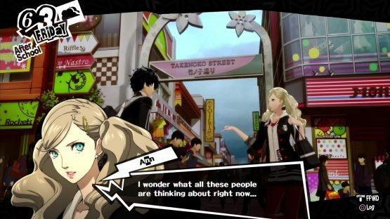 Persona 5 Review - JRPGs Will Never Be The Same Again (PS4) Harajuku