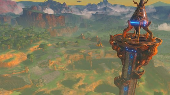 The Legend of Zelda: Breath of the Wild Review (Switch) Tower
