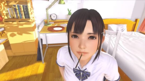 VR Kanojo Smell Support Lets You Smell the Girl 2