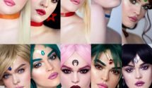 Make-up artists Sailor Moon make up – is both amazing (and scary)