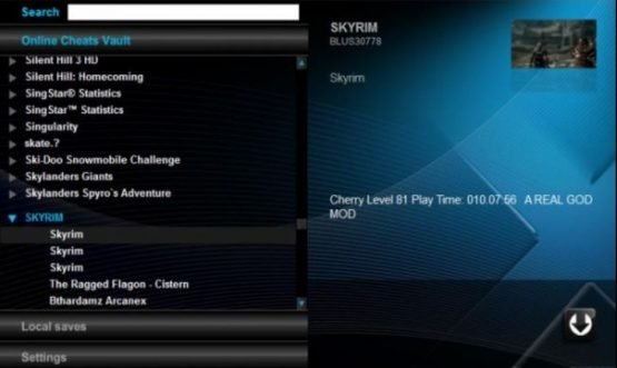 This is the PS3 UI for Xploder - though it has now been completely overhauled.