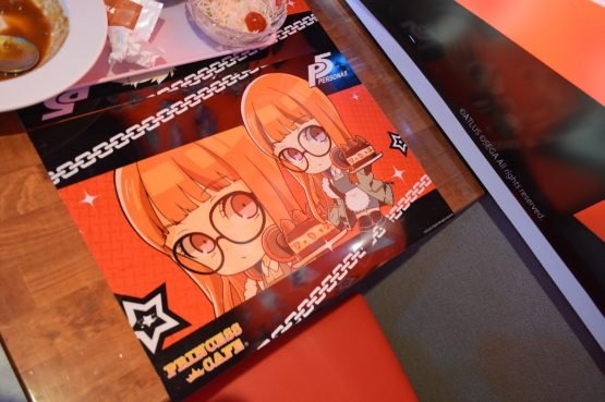 Take a Look at Some Goodies from the Persona 5 Cafe!
