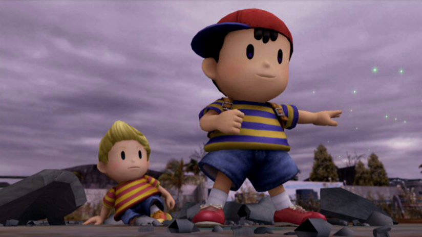 Mother Retrospective - A Look Back at One of Nintendo's Greatest Series Smash Bros Ness Lucas