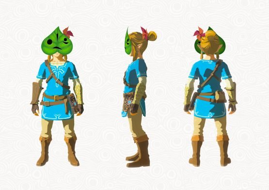 It's Tingle But Not As You Were Expecting, Breath of the Wild DLC Pack 1 Detailed ZBotW_DLC_Korok_mask