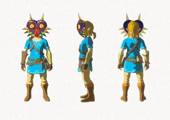 It's Tingle But Not As You Were Expecting, Breath of the Wild DLC Pack 1 Detailed ZBotW_DLC_Majora_Mask