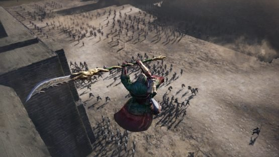 Dynasty Warriors 9 Announced for the West battle2_surprise attack from above