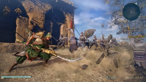 Dynasty Warriors 9 Announced for the West system7_saving the village