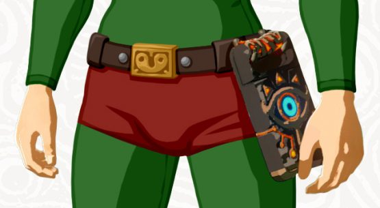 It's Tingle But Not As You Were Expecting, Breath of the Wild DLC Pack 1 Detailed tingle-crotch