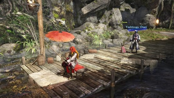 Samurai Warriors Spirit of Sanada Interview: Osamu Mieda on Making History Minigame_Fishing