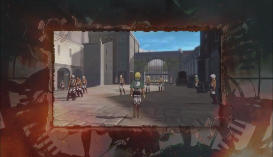 Attack on Titan 2 Gameplay First Look in New 3DS Trailer 1