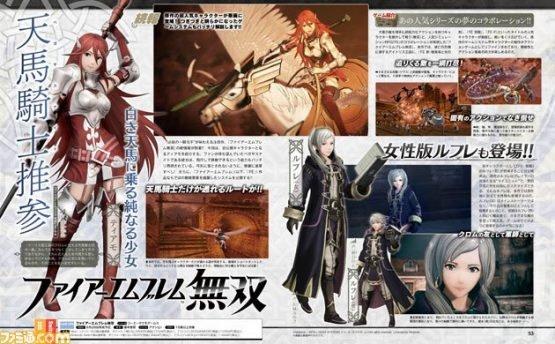 2 New Fire Emblem Warriors Characters Announced