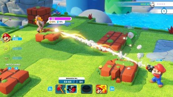 Mario + Rabbids Kingdom Battle Combat Trailer Released