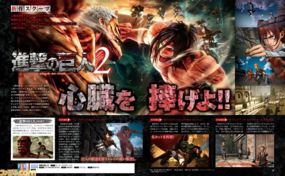 Further Attack on Titan 2 Details Reveal Over 30 Playable Characters