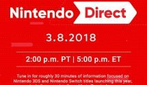 Nintendo Direct Set for 8th May
