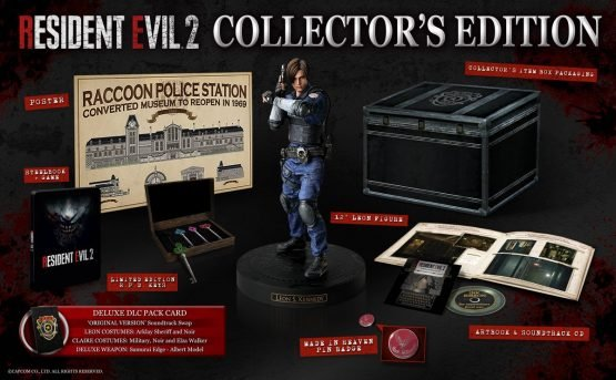 resident evil 2 remake collector's edition