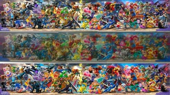 Leaked Full Super Smash Bros. Ultimate Roster Appears?!