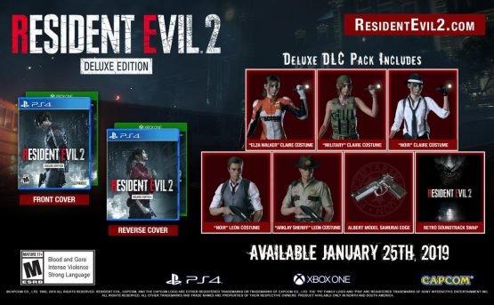 resident evil 2 remake extra pack dlc