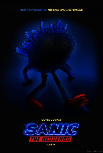 Sonic Movie Poster The Internet Reacts To The Latest Live Action Movie
