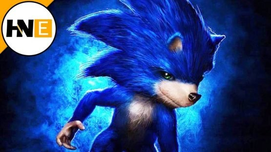 sonic movie poster realistic
