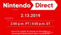 February Nintendo Direct Coming Tomorrow