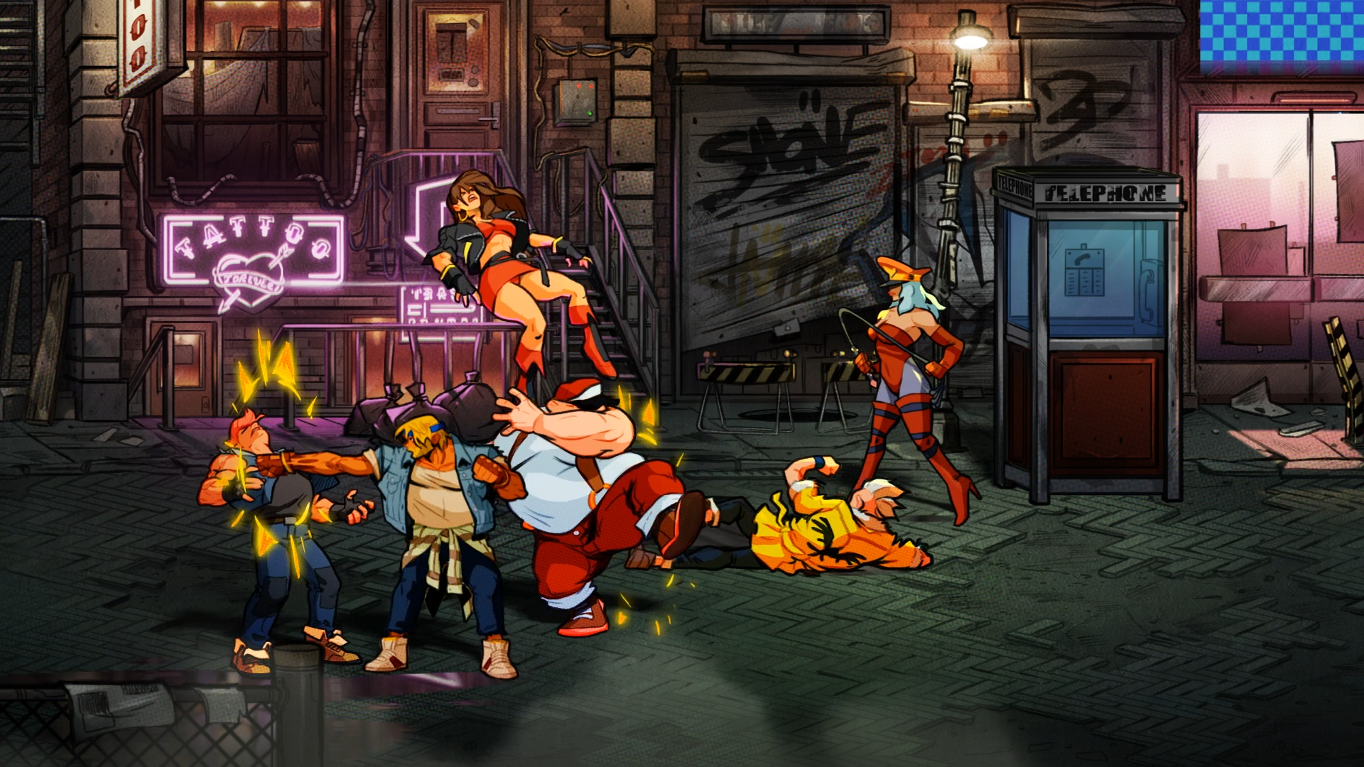 Streets of Rage 4 looks bad