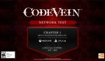 Code Vein Network Test Confirmed For May Plus New Gameplay Footage