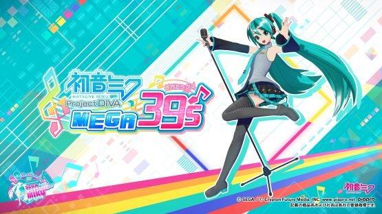 Project Diva Switch Title Hatsune Miku: Project Diva Mega 39's Announced