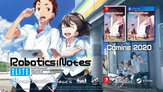 Robotics;Notes Elite and DaSH Coming West