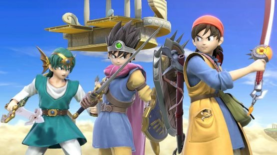 Super Smash Bros. Ultimate DLC Dragon Quest Hero Out Today