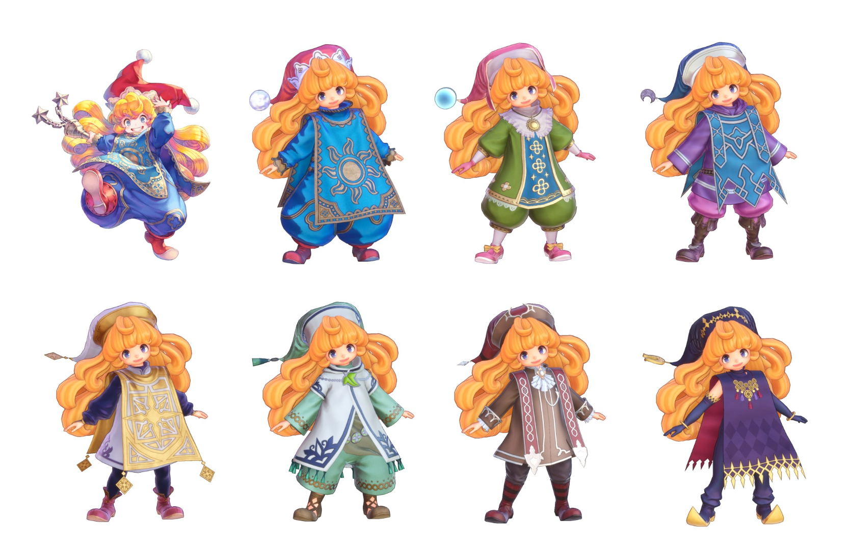 Trials of Mana Characters Charlotte