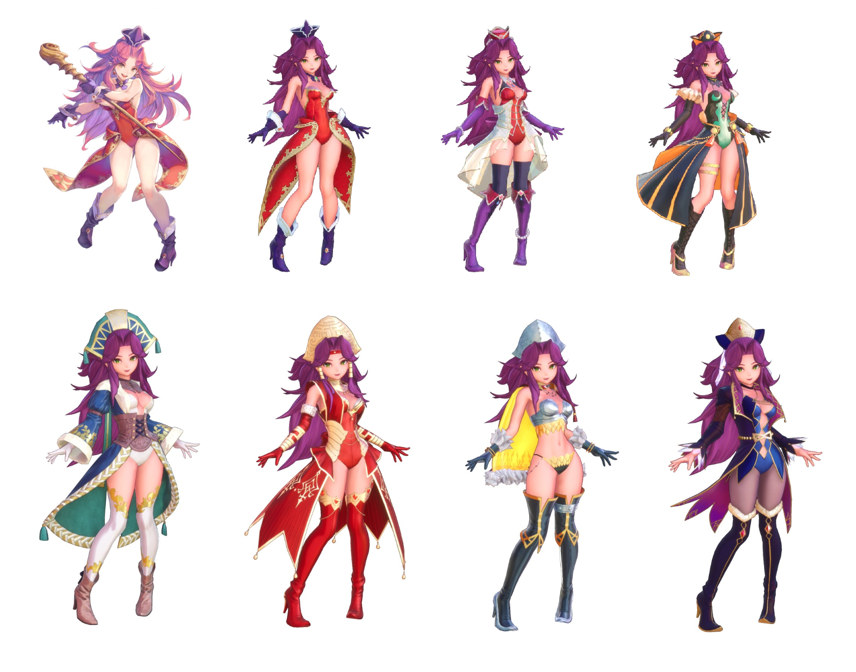 Trials of mana gameplay characters and classes Angela