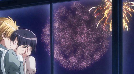 Top 5 Anime Kisses Maid Sama