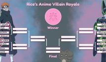 Introducing Rice's Anime Villain Royale