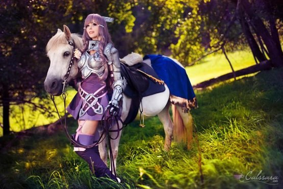 sexy fire emblem cosplay sumia