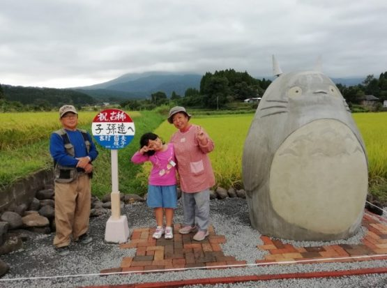 my neighbor totoro replica bus stop