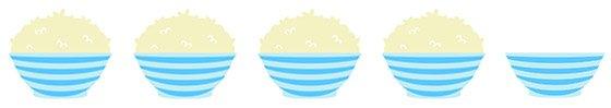 rice digital 4 bowls