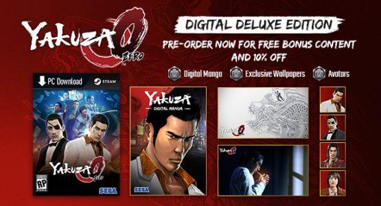 yakuza 0 digital deluxe