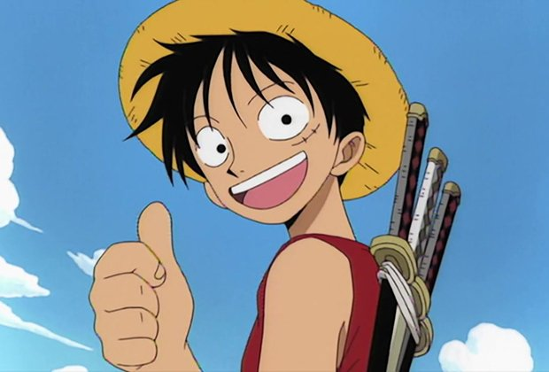 Luffy giving thumbs up