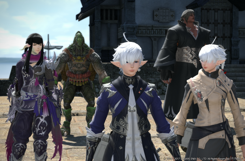 Final Fantasy XIV Starter Edition Free On PS4