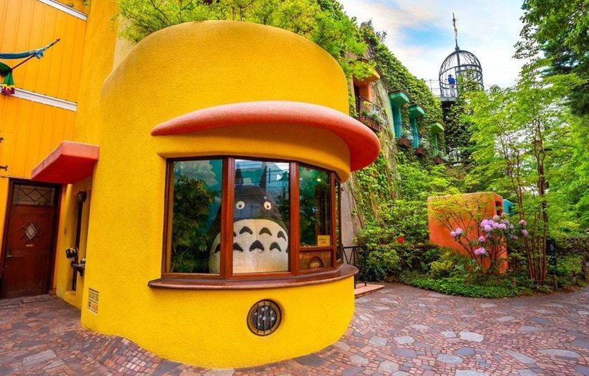 Take A Rare Look Inside The Studio Ghibli Museum