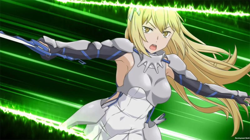 DanMachi Infinite Combate Release Date Is August 7th