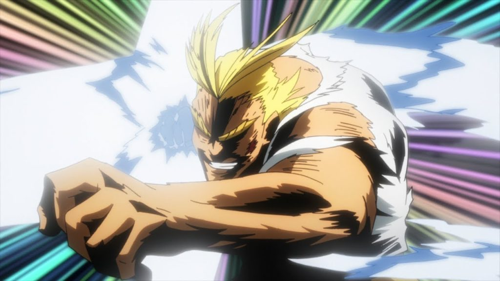 My Hero Academia - All Might punching