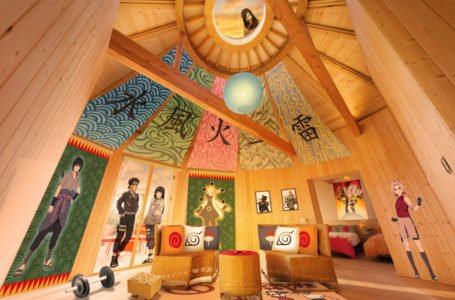 Amazing Naruto Hotel Suite Now Open In Japan