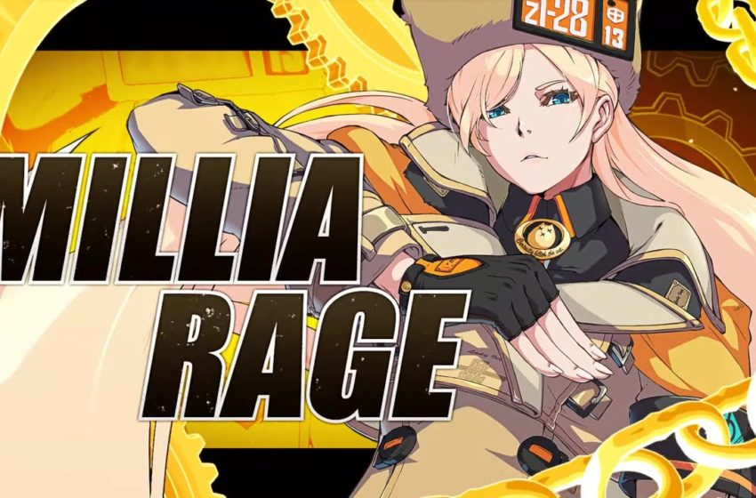 guilty gear strive millia