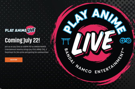Play Anime Live From Bandai Namco Revealed