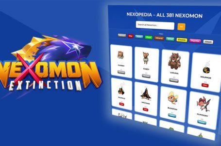 Most of Nexomon: Extinction's 381 Nexomon Revealed