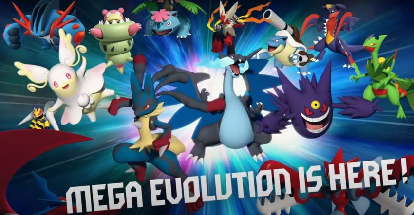 Pokemon Go adds mighty Mega Evolutions